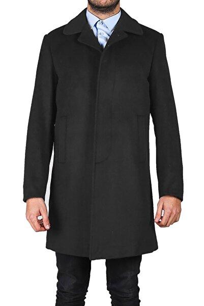 İgs Erkek Füme Modern Fit Palto