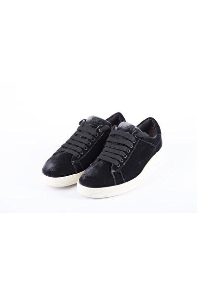 Tom Ford Erkek Siyah Sneaker Ayakkabı