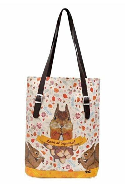 Dogo Teemood Look At Squirrel Tallbag Omuz Çantası