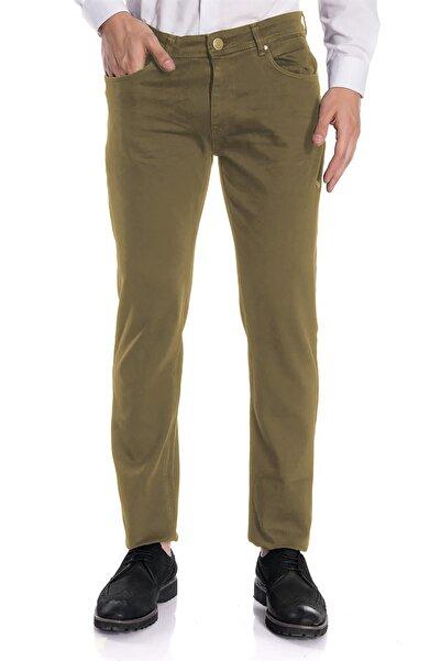 İgs Erkek Camel Slim Fit Pantolon