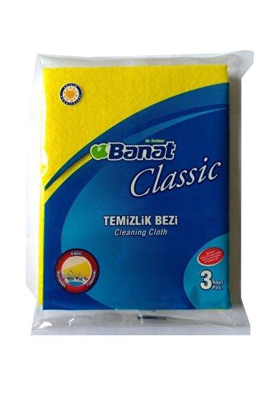 Banat Temizlik Bezi Classic 3 Adet