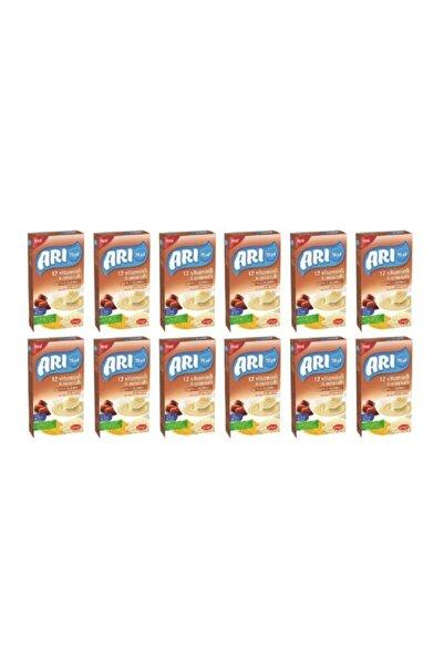 ARI Mama 12 Vitaminli 6 Mineralli Sütlü Hurmalı Pirinçli 200gr (12'li Paket)
