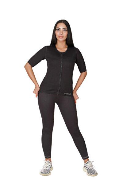 Yamuna Kadın Siyah Performans Termal Body