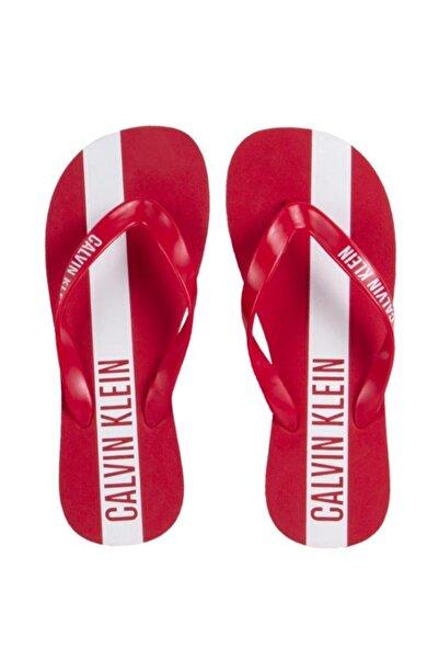 Calvin Klein Erkek Kırmızı Terlik 18YKM0KM00208-CK622