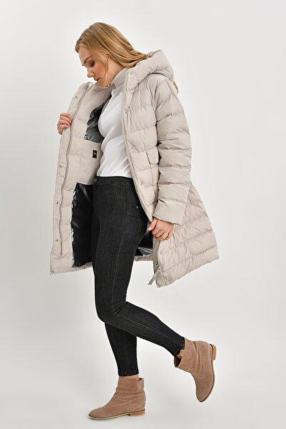 Icon Kadın Taş Şişme Mont Kışlık 5558 Kb