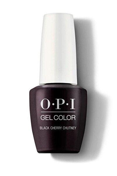 OPI Gel Color Black Cherry Chutney Gc I43