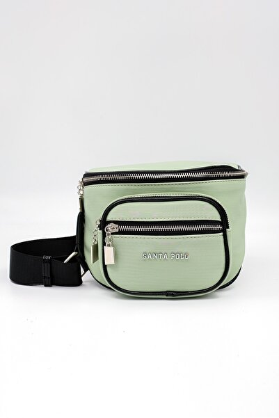 Santa Polo Kadın Yeşil Bel Çantası
