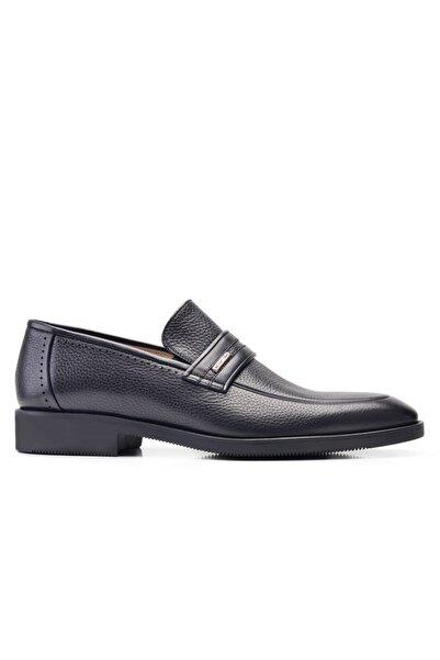 Nevzat Onay Erkek Hakiki Deri Siyah Klasik Ayakkabı
