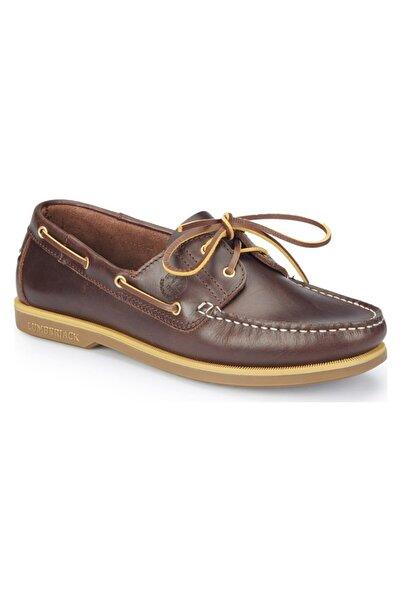 lumberjack Erkek Navıgator Bordo Taba Loafer Ayakkabı