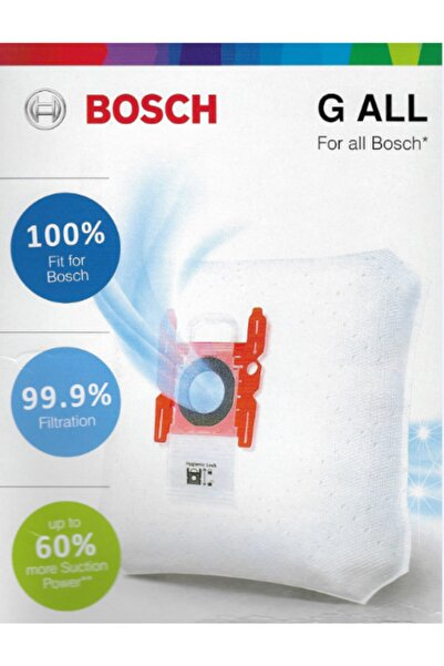 Bosch Typ G Move On - Move On Mini - Gl 30 - Gl 20 Elektrikli Süpürge Toz Torbası (4 Adet)