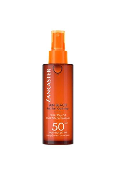 Lancaster Sun Beauty Dry Oil Fast Tan Optimizer Spf50 150 Ml