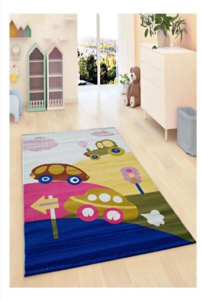 Payidar Halı Kids Amigo 8534A Trafik Desenli Çocuk Halısı