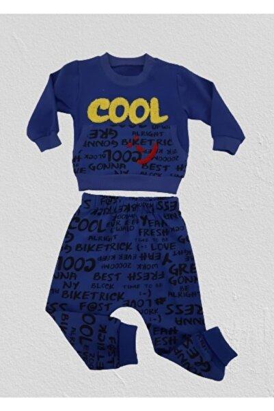 Bücürük Erkek Bebek Cool Baskılı Iki Takım