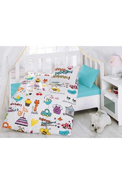Cotton Box Bebek Nevresim Takımı 100x150 Mutlu