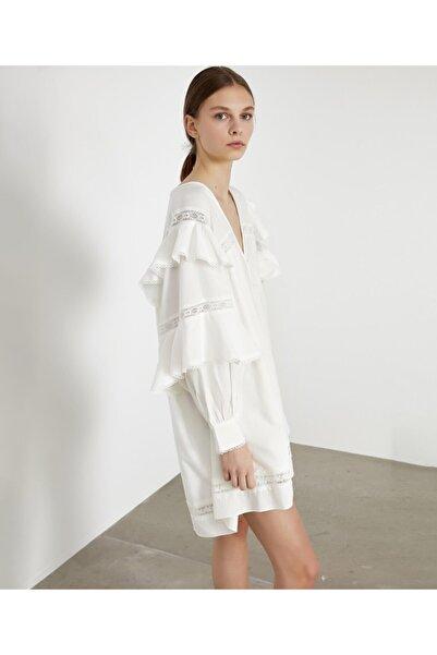 İpekyol Kadın Beyaz Elbise