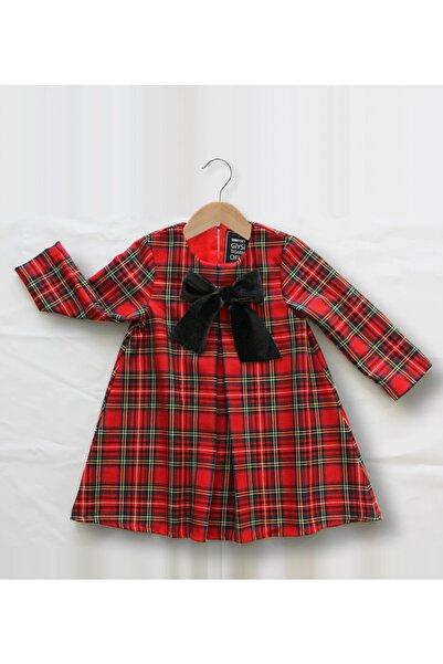 SUMEYYE'S Kız Çocuk Kırmızı Elbise
