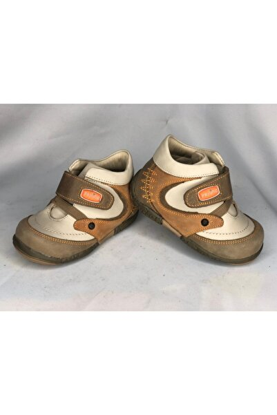 Perlina Erkek Bebek Bej Sneaker