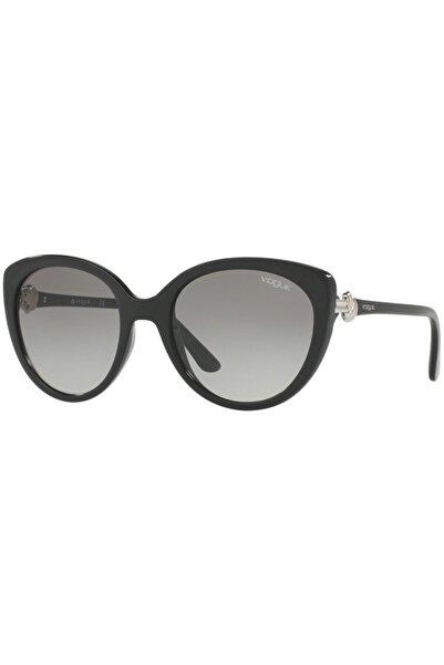 Vogue Kadın Siyah Güneş Gözlüğü Vo 5060s W44/11 53