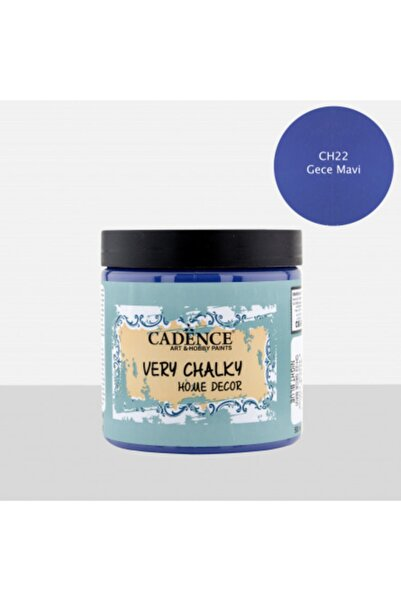 Cadence Very Chalky Home Decor 500 Ml Ch 22 Gece Mavi Mavi Boya