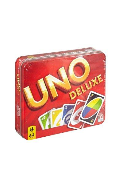 mattel K0888 Uno Deluxe Kartlar /aile- Kutu Oyunları +7 Yaş