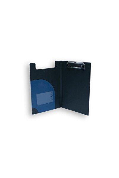 pikas Mavi Kapaklı Üstten Mekanizmalı Suni Deri A4