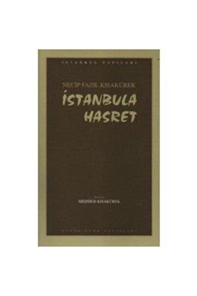 Büyük Doğu Yayınları Istanbula Hasret, Necip Fazıl Kısakürek,