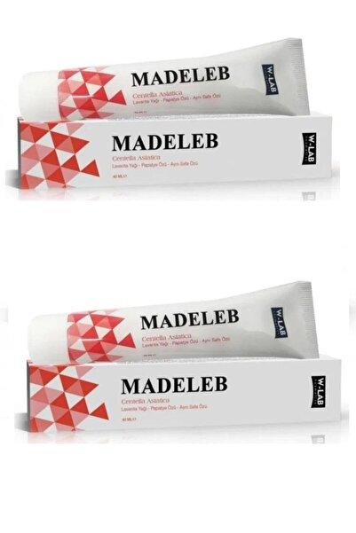 W-Lab Kozmetik Madeleb Cilt Yenileyici Krem 40 Ml 2'li Paket