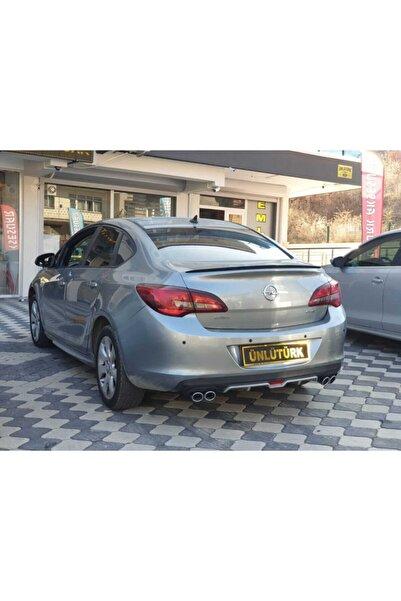 CARPİ Opel Astra J Spoiler - Spoyler Piano Black-parlak Siyah