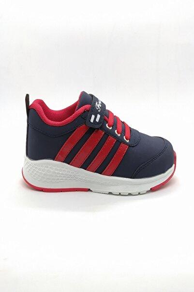 First Class Unisex Çocuk Laci-kırmızı Rahat Spor Ayakkabı Yuad1101