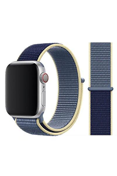 zore Apple Watch 5 Kordon Renkli Hafif Örgülü 40 Mm Krd-03