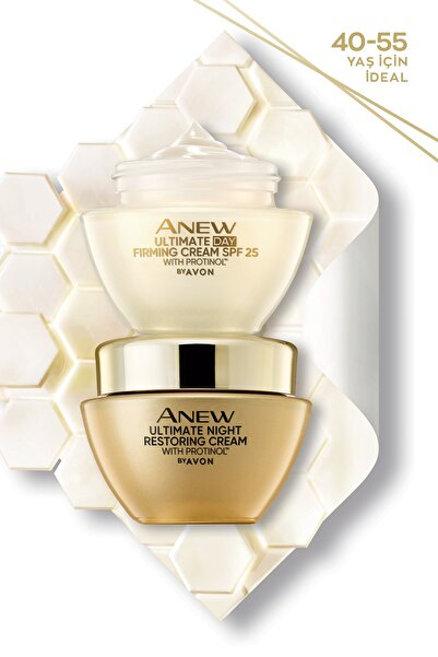 AVON Anew Ultimate Gündüz Kremi SPF25 + Anew Ultimate Gece Kremi 50ml Seti
