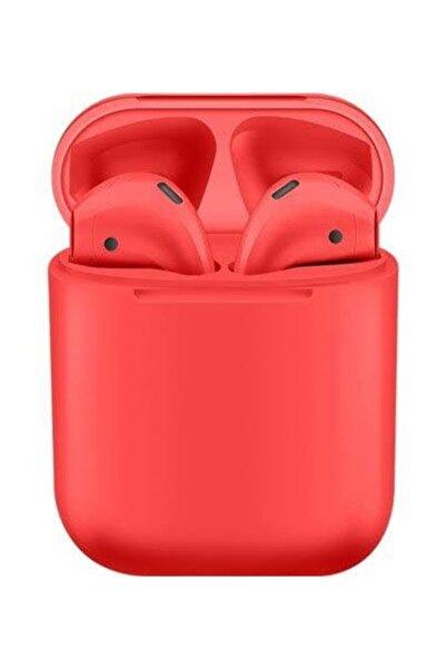 Torima Kırmızı I12 Bluetooth Kablosuz Kulaklık 5.0 Stereo - Şarj Üniteli