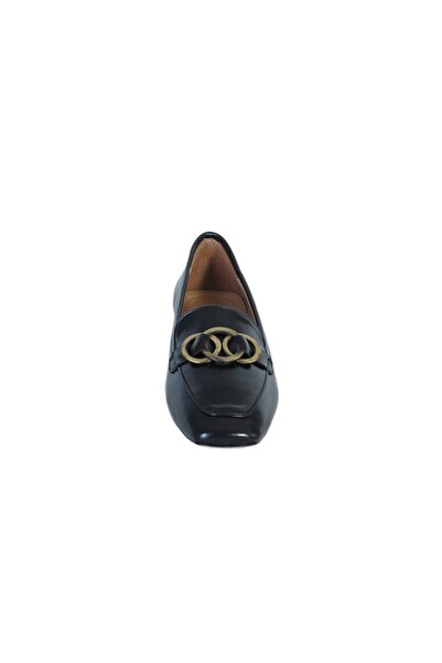 KEMAL TANCA Kadın Siyah  Ayakkabı