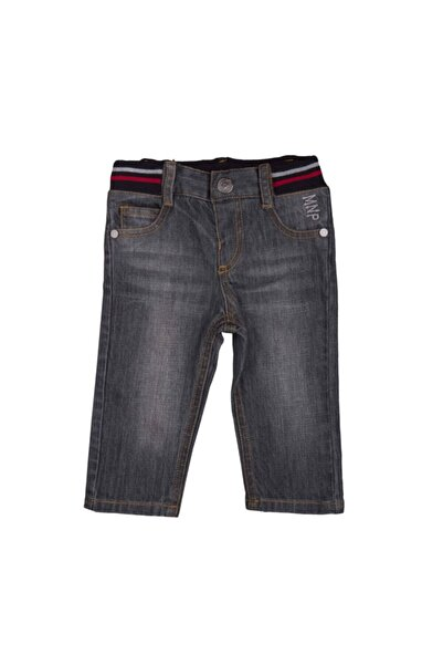 Bebepan Unisex Bebek Gri Pantolon