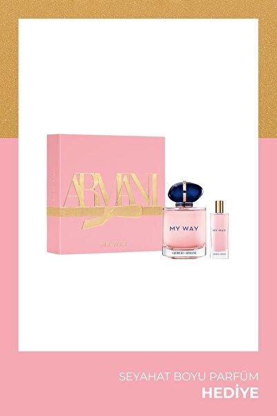 Giorgio Armani My Way Edp 90 Ml Kadın Parfüm Seti 3614273256445