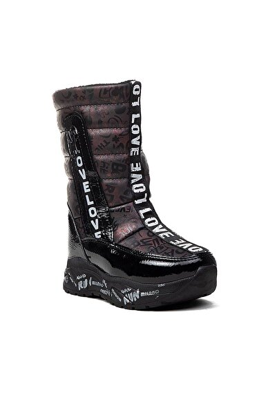 Twingo Kız Çocuk Bordo Ortopedi Yağmur  Bot Ayakkabı 7361