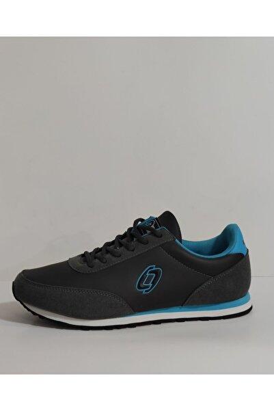 Lescon Unisex Gri Spor Ayakkabı