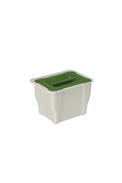 Pelikan Beyaz Dikdörtgen Çok Amaçlı Mutfak Çöp Kovası 5 lt