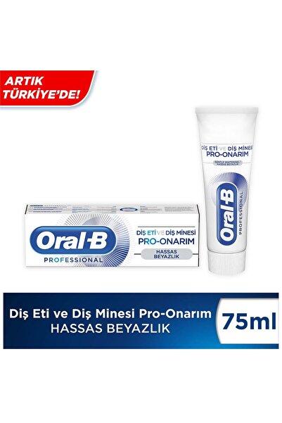 Oral-B Professional Diş Eti ve Diş Minesi Pro-Onarım Hassas Beyazlık 75 ml