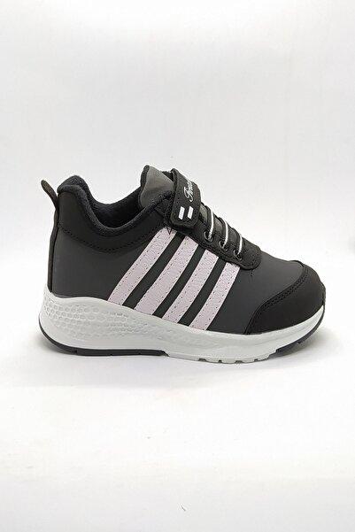 First Class Erkek Çocuk Siyah-beyaz Sneaker Yuad1205