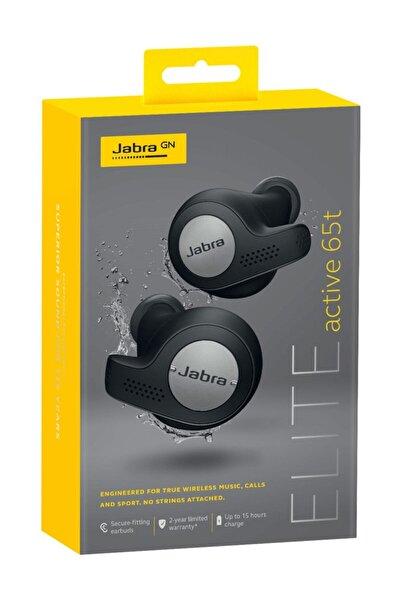 Jabra Elite Active 65t True Wireless Titanyum Siyah Bluetooth Kulak İçi Kulaklık