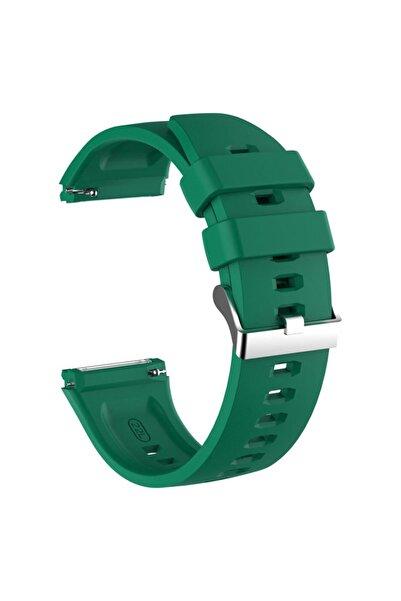 Microsonic Microsonic Watch Gt2 Pro Kordon, Silicone Rapidbands Koyu Yeşil