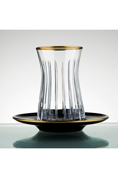 Paşabahçe El Yapımı 12 Parça 6 Kişilik Çay Bardağı Seti