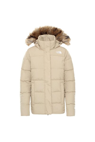 THE NORTH FACE Kadın Bej Gotham Outdoor Ceket Nf0a4r33h7e1