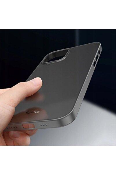 Baseus Wing Case Iphone 12 6.1 Kılıf Ultra Ince Lux Mat Şeffaf Kılıf