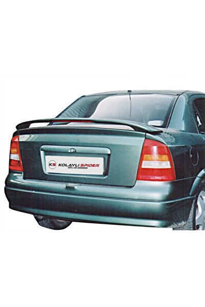 KOLAYLISPIDER Opel Astra G Sd Spoiler Bagaj Yüksek (ışıklı) Fiber 1998-2009