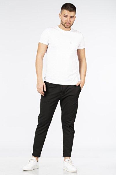 BARRELS AND OIL Erkek Siyah Çelik Skinny Pantolon