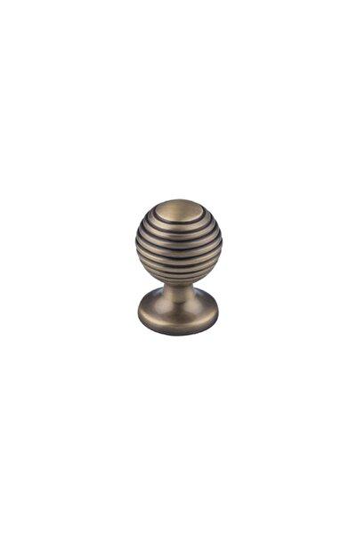 Hafele Gaın Düğme Kulp Antik Bronz Ø25mm