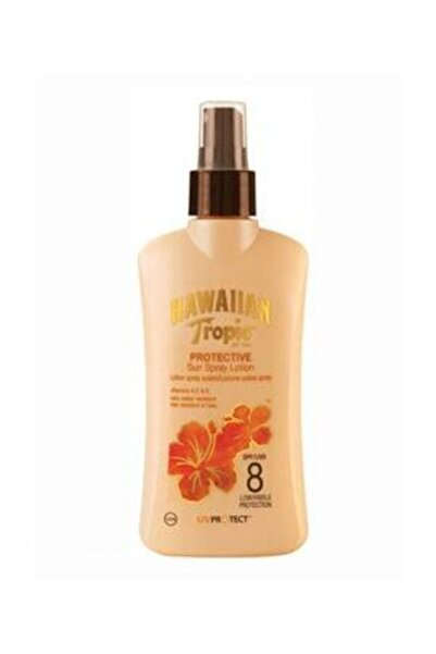 Hawaiian Tropic Güneş Koruyucu Sprey Losyon - Satin Protection Spf 8 200 Ml