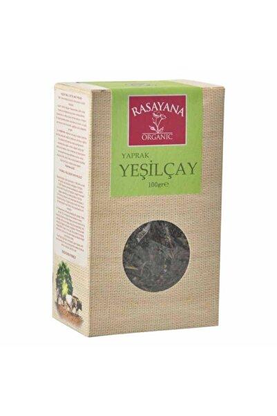 Rasayana Organik Yeşil Çay (yaprak) 100 Gr